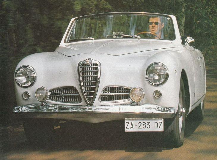 1951 Alfa Romeo 1900 C Cabriolet Pininfarina