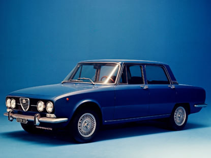 Alfa Romeo Berlina 2000 1971
