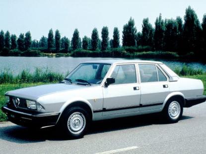 Alfa Romeo 6, Quadrifoglio Oro 1983