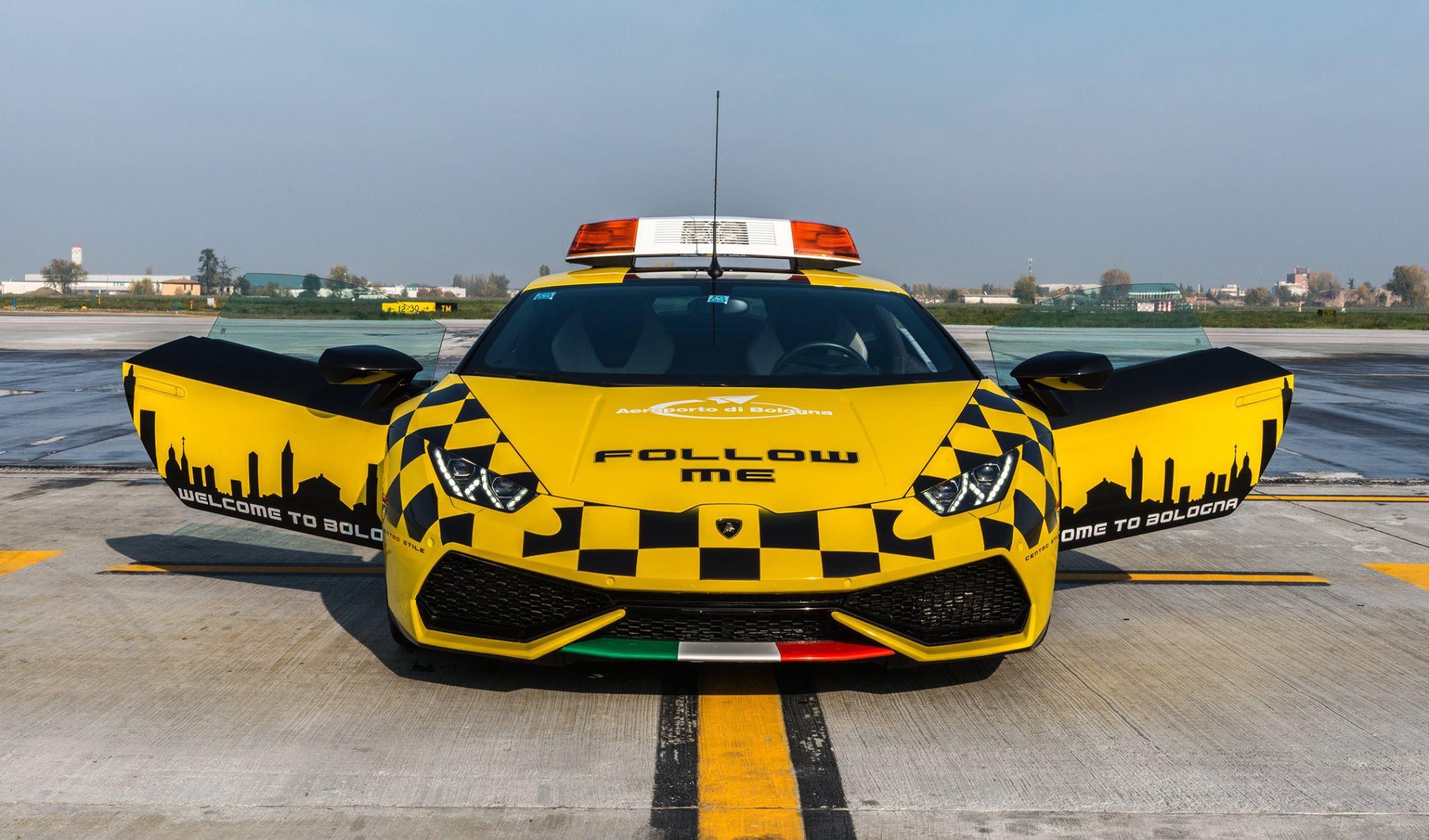 Lamborghini Huracan Lotnisko Bolonia