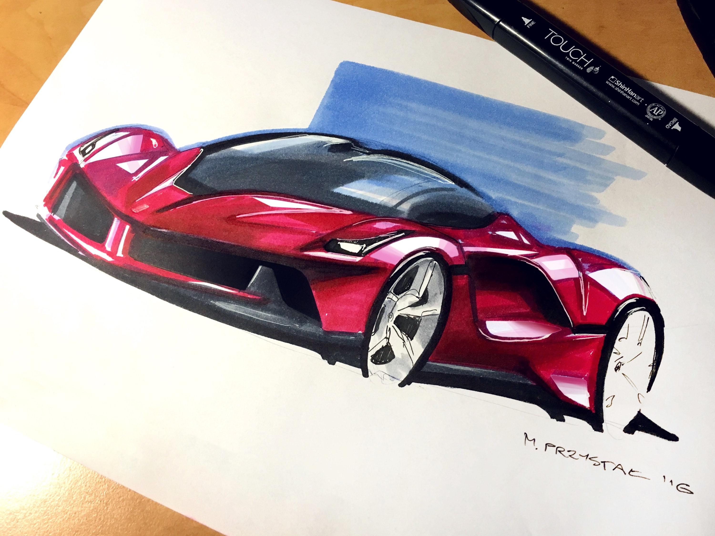 Ferrari Design Mateusz Przystał