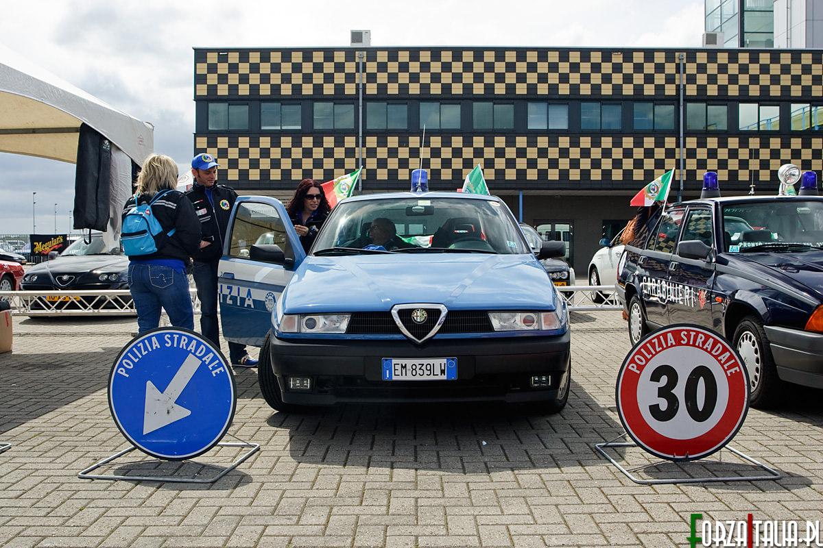 Alfa Romeo 155 Polizia Spettacolo Sportivo