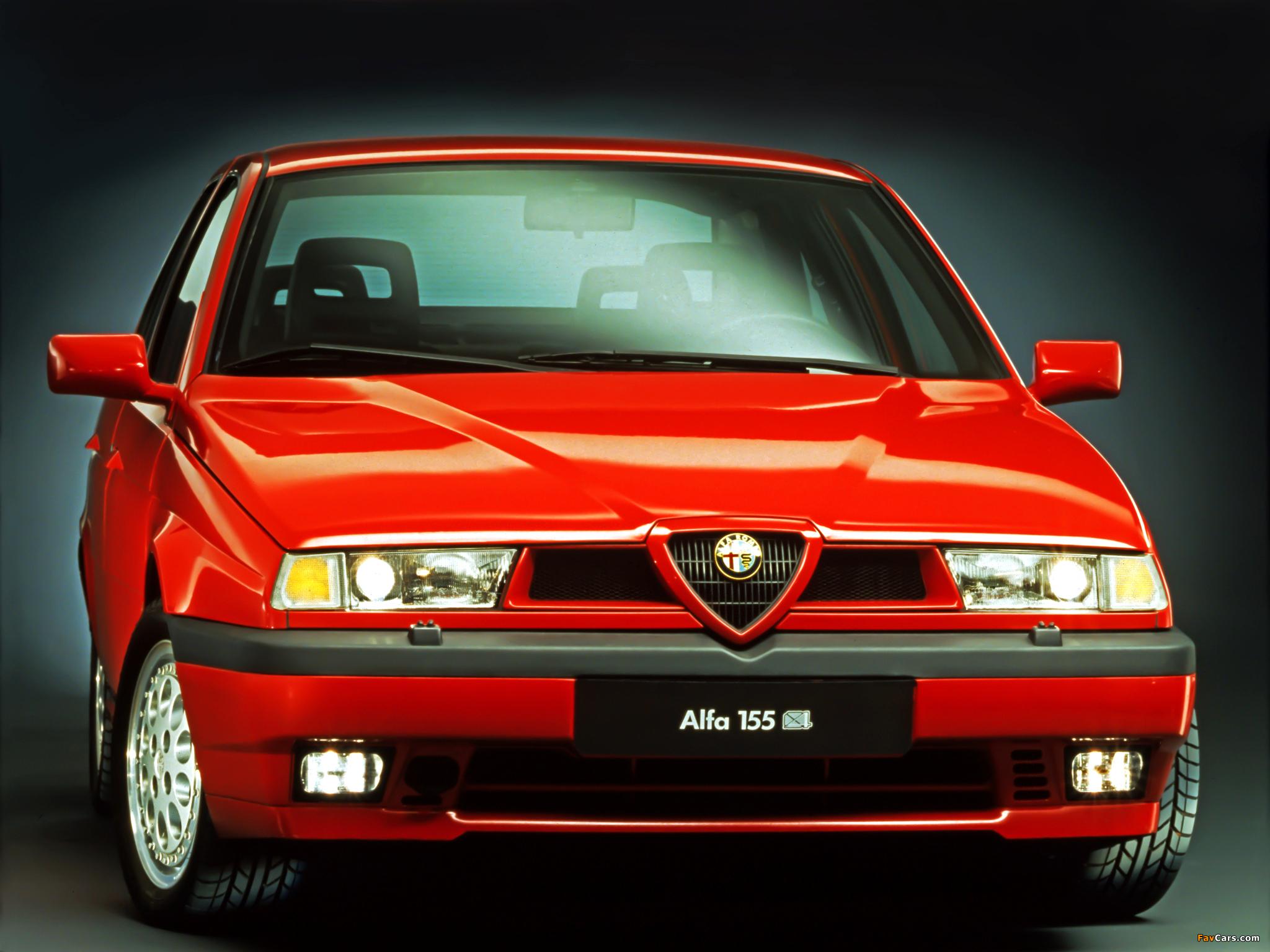 Alfa Romeo 155 Q4 ForzaItalia