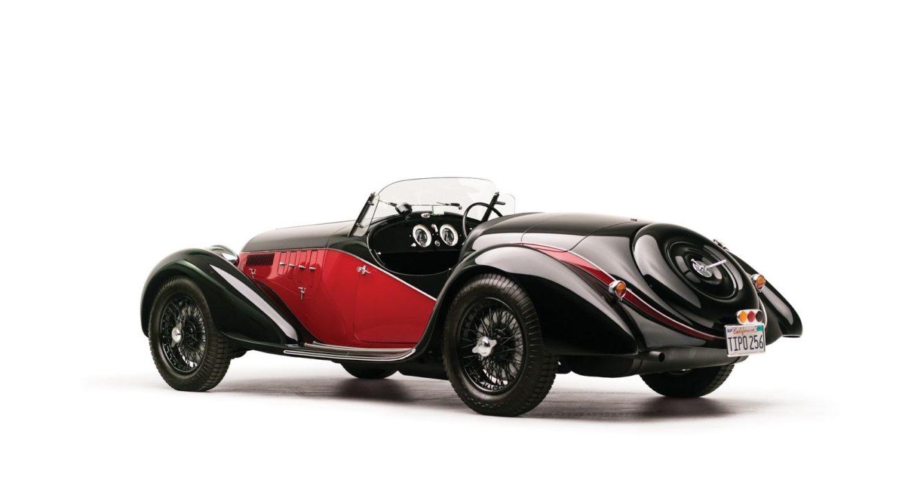Alfa Romeo 6C 2500 SS Spider 1942
