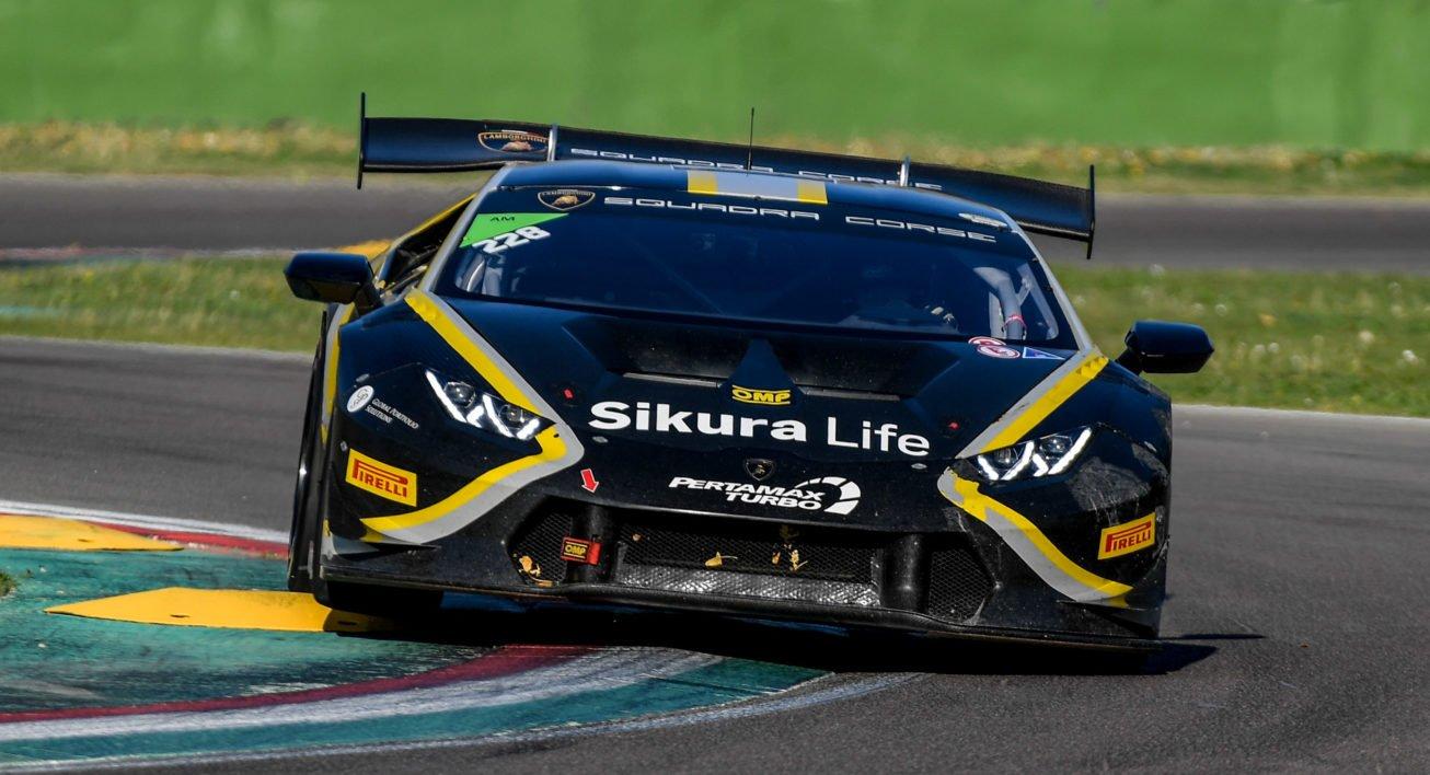 Lamborghini Huracan Super Trofeo Cup Imola