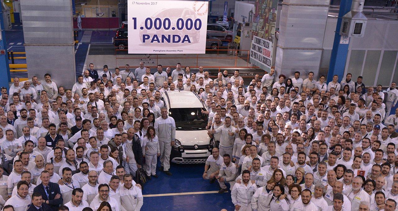 Fiat Panda City Cross nr 1 000 000