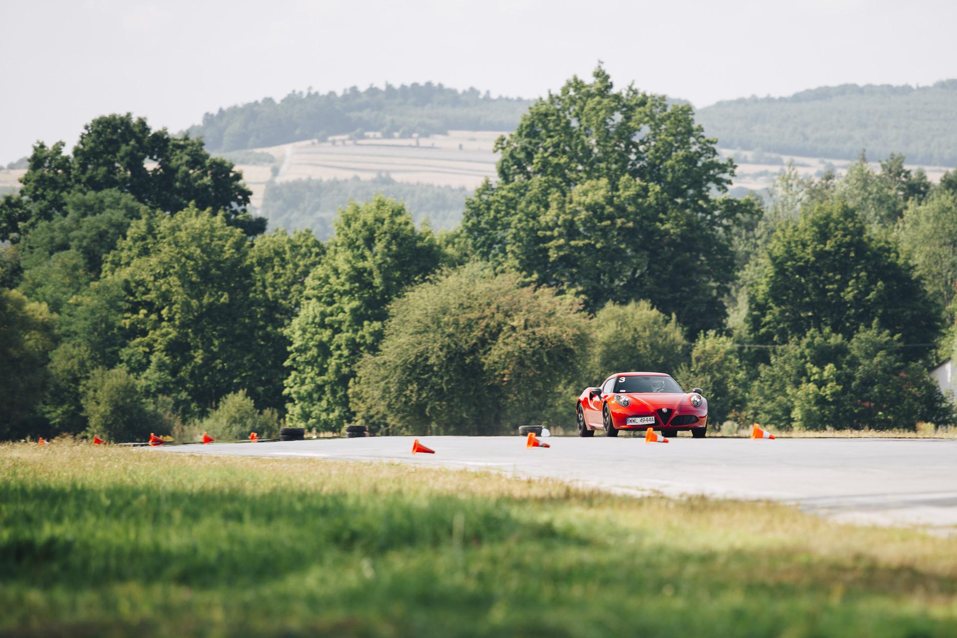 Alfa Romeo 4C Tor Kielce