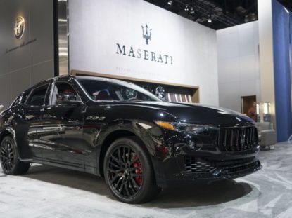 Maserati Quattroporte i Levante Nerissimo