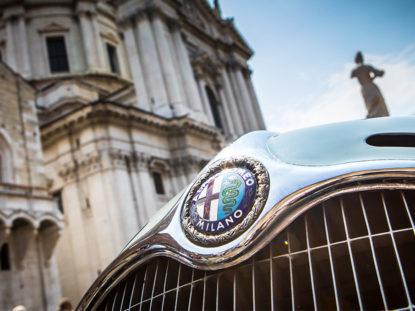 Alfa Romeo na Mille Miglia