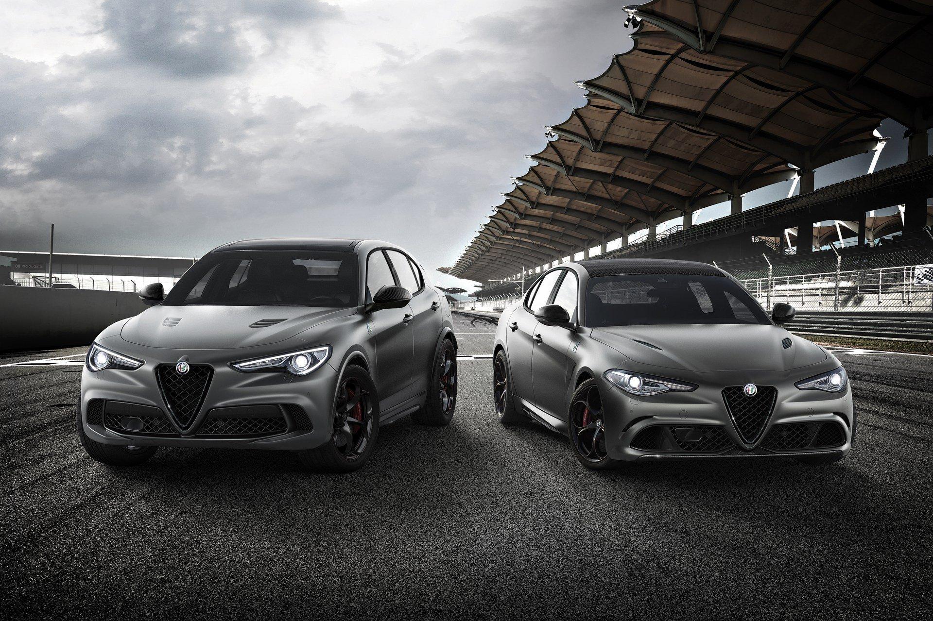Limitowane edycje Giulii Stelvio i 4C zadebiutują w Genewie