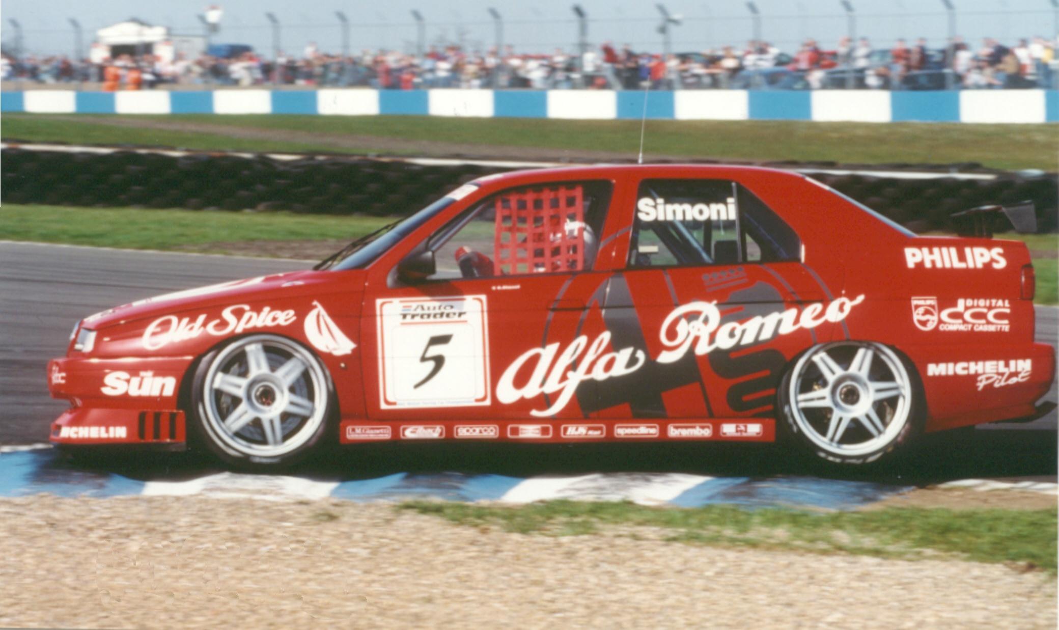 25 lat temu Alfa Romeo 155 V6 TI odniosła pierwsze zwycięstwo