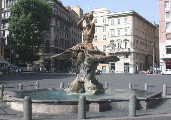 Bernini Fontanna Trytona