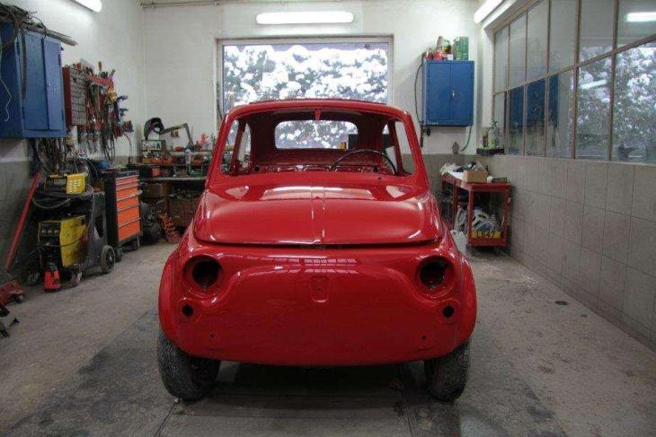 Fiat 500 R odbudowa