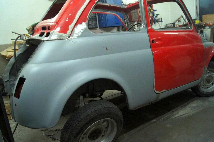 Fiat 500 R remont