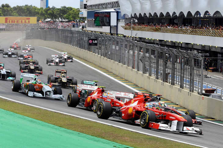 F1 Brazylia Ferrari