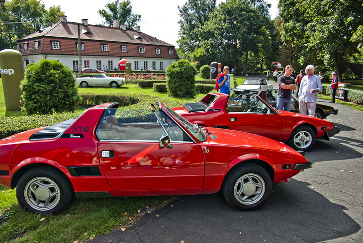 Zlot Forza Italia Fiat X1/9