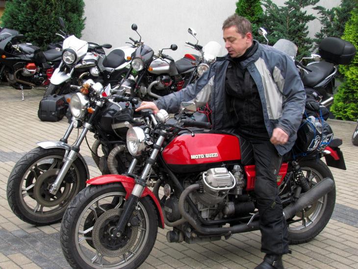 Moto Guzzi Mrągowo