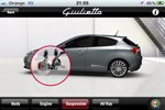 Alfa Romeo Giulietta iPhone