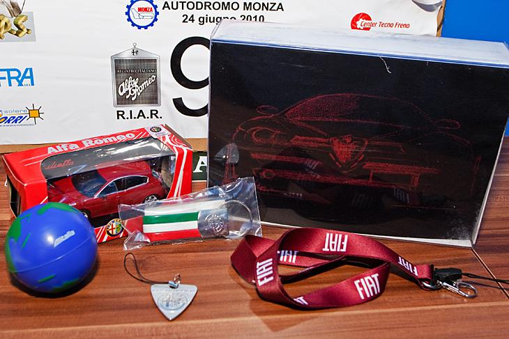 Gadżety Alfa Romeo