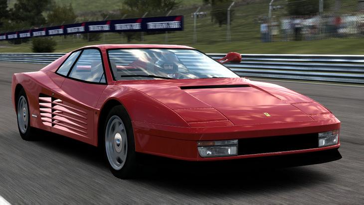 Test Drive Ferrari Racing Legends 512TR 1991