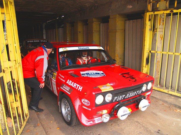 Mirek Miernik Mirek Staniszewski Fiat 131 Abarth