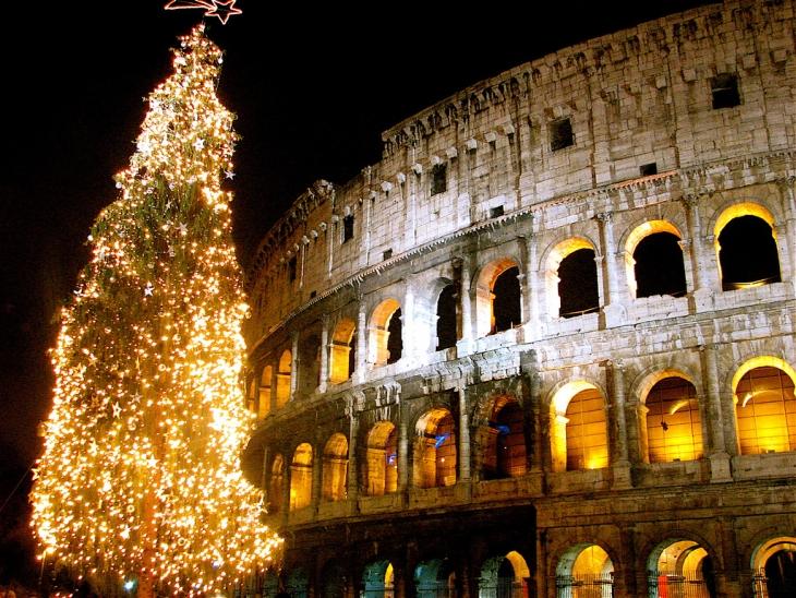 Rzym w święta