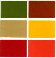 Alfasud paleta kolorów