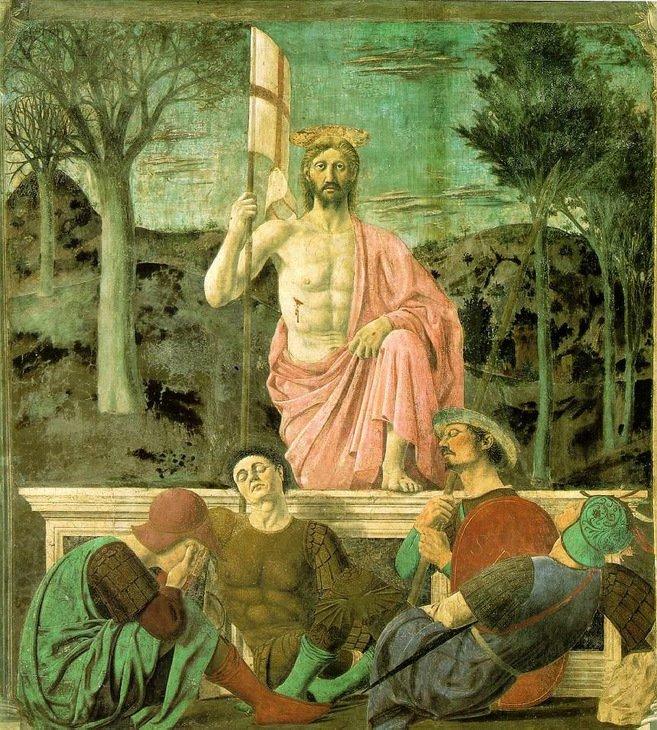 Piero della Francesca - Zmartwychwstanie