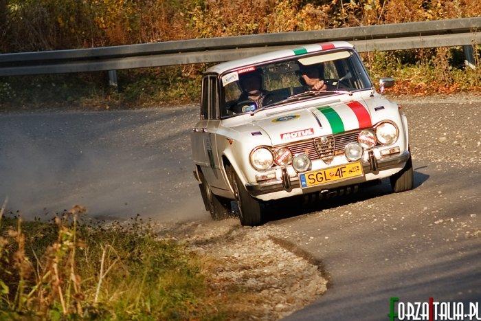 Alfa Romeo Giulia Rajd Polski Historyczny