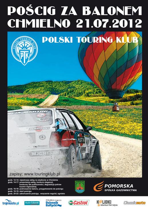 poscig za balonem Polski Touring Klub