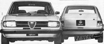 Alfasud Super 1980