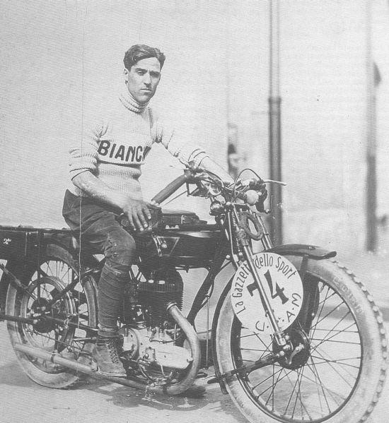 Tazio Nuvolari Bianchi