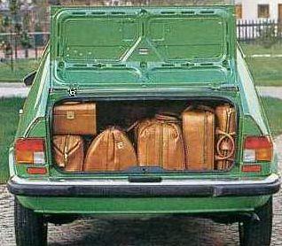 Bagażnik Alfasud