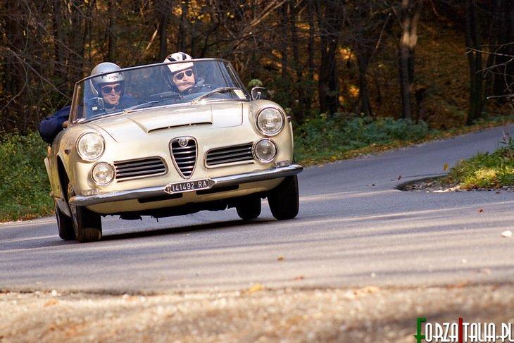 Manuel Massardi / Massimo Parladori Alfa Romeo 2600 Spider